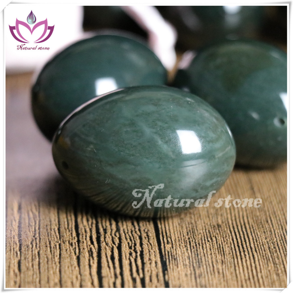 wholesale Yoni Egg kegel egg various Size hot sale sex fitness therapy 100% Genuine Nephrite jade eggs free inspection