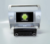 Quad core!car dvd with mirror link/DVR/TPMS/OBD2 for 7inch touch screen quad core 4.4 Android system CITROEN C4(Silver)