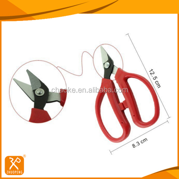 FDA high quality PP handle toe nail cutting manicure scissors
