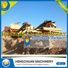 Economic and Reliable Dry land mini gold panning machine