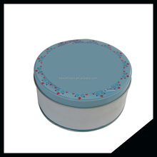 Fancy Large Round Box For Candy Tin Can With High Quality For Gift Packaging