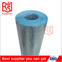 HVAC cheap PE foam fireproof flame retardant bubble wrap aluminum foil thermal heat insulation material