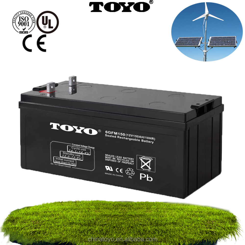 12v150ah rechargeable inverter battery storage solar battery manufacturer