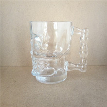 Clear Beer Glasses Cheap 18oz Tankard Wholesale Beer Steins
