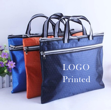 A4 portable canvas bag customized portfolio portfolio meeting training can print logo print <strong>advertising</strong>