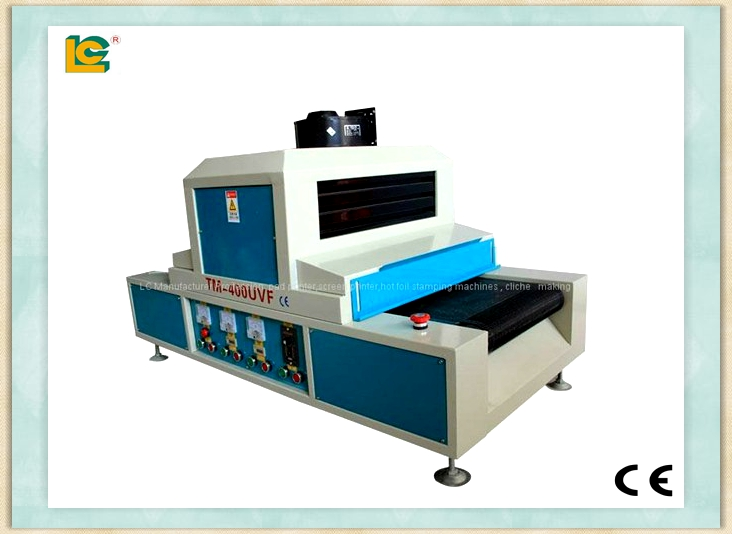 Desktop style uv conveyer dryer for screen printing TM-400UVF