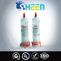 One Component High Temperature Resistant Epoxy SMT Red Adhesive