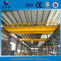 QD type electric double girder overhead crane from crane hometown