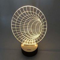 New Item 3D Led Night Light For Home Decoration