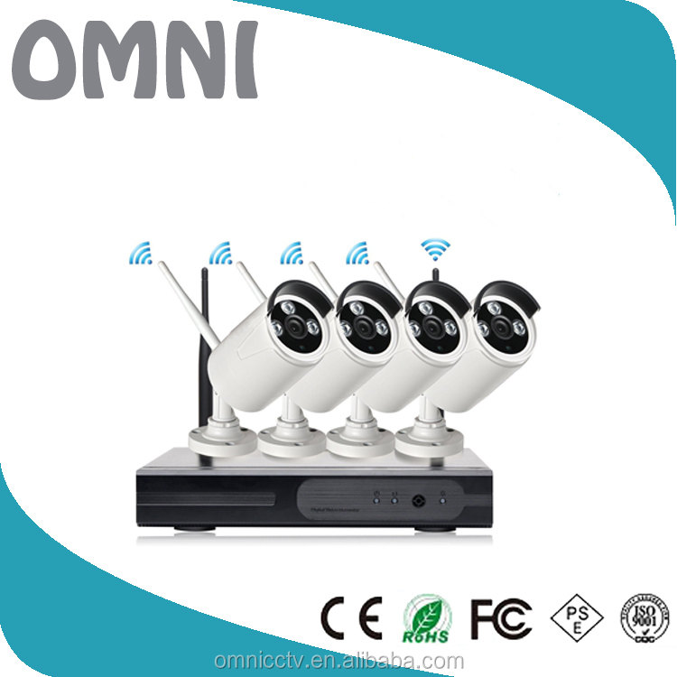 Best quality cctv camera K10 4ch dvr - 4 camera wireless cctv camera kit