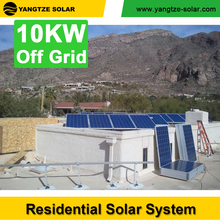 10 years warranty off grid 10kw residential solar power system