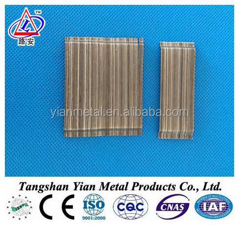 Top quality steel fiber with CE certification for construction using