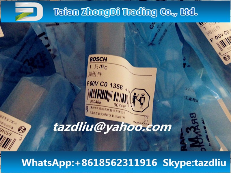 Original and New Common Rail Valve F00VC01358 for 0445110291,0445110358, 0445110359, 0445110366, 0445110367