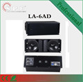 spe audio LA-6AD 2 way dual 12 inch powered line array