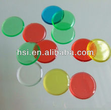 3/4 Inch Plastic game chips