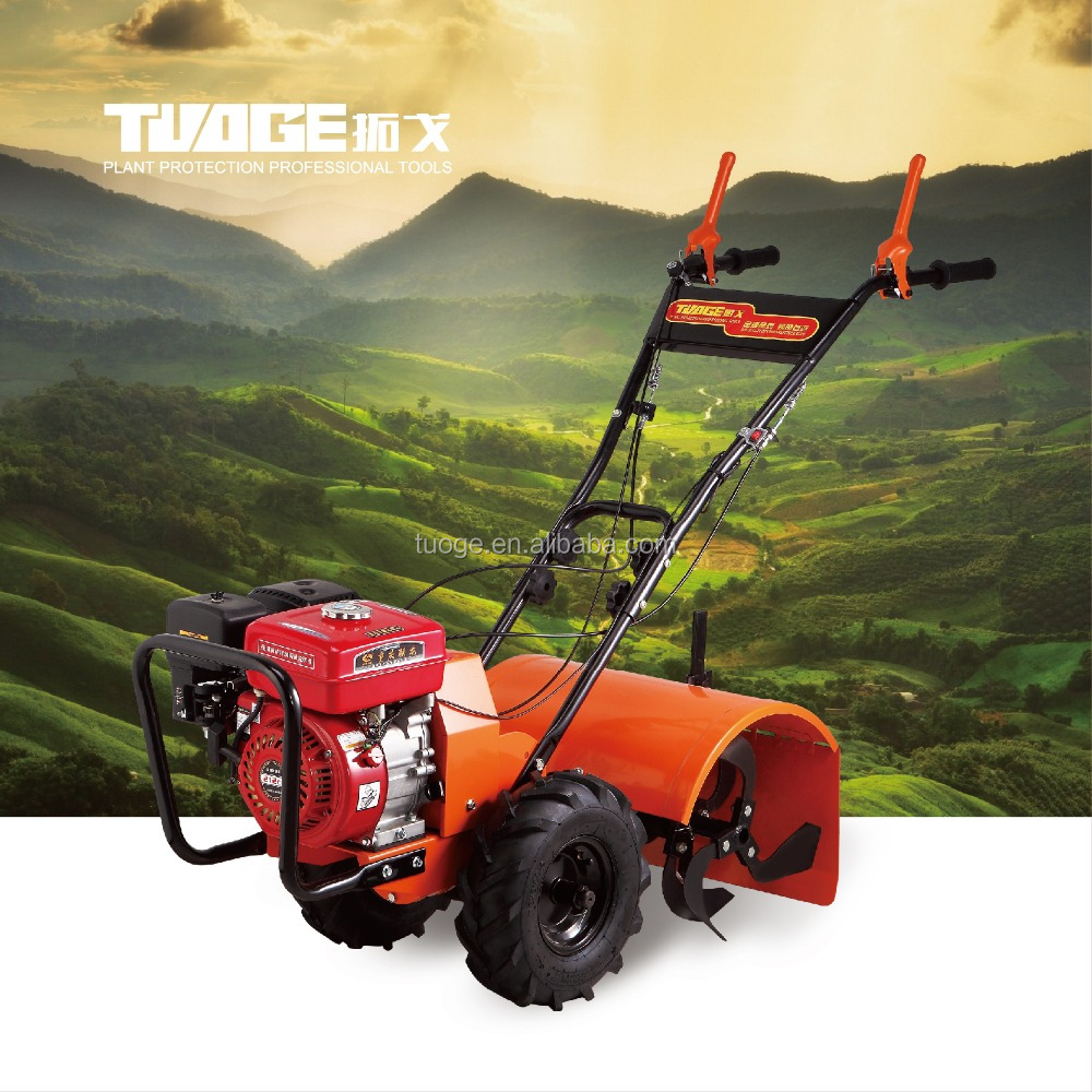 MINI tiller cultivator walking tractor machines, diesel/gasoline power trencher