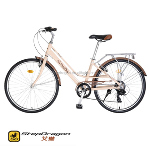 Retail Irene City Bike Newest Cheap Bike / City Bicycle / Pink City Popular with High Quality
