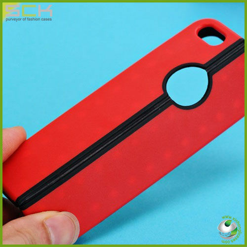 "Newest Color TPU stand Rubber Skin Case Cover for Apple iPhone 5"" 5G 5th"