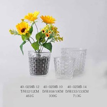 2017 new design garden flowers pot home & garden glass vase