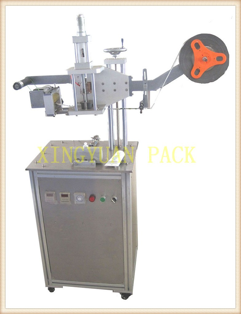 Stainless steel Table top Automatic Plastic Tube sealing machine/Pedal type tube sealer machine