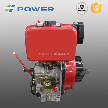 Low consumption 10HP 186FAE air cooled diesel engine
