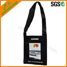promotional eco nonwoven college girls shoulder bag