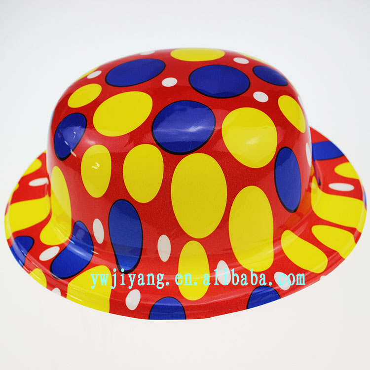 Cheap Plastic Hats for Snowman Colorful Carnival Hat