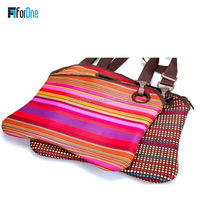Latest fashion design full color pringting neoprene bag