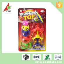 New product kids plastic small sport interesting spin top