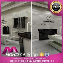 Customizable Original Design Wall Rack Clothing Store