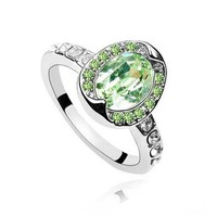 Import Jewellery from China Made With Crystal from Swarovski Led Ring Light