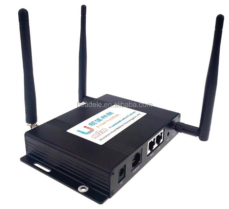 Industrial 4g LTE Wireless Router,with RS232 interface,with sim card slot