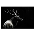 Custom Photo Prints HD Elk Picture Canvas Printing Modern Animal Picture Canvas Print Home Wall Decoration