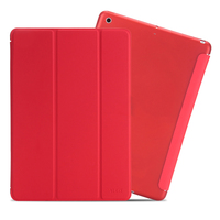 Ultra Slim Lightweight Stand Case with Translucent Frosted Back Smart Cover for 2017 New Apple iPad 9.7 Inch