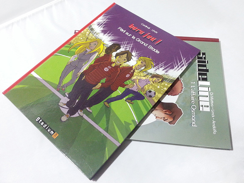 High Quality Customized hardcover binding comic book printing