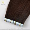 China Supplier Grade Russian Cheap Virgin Remy Human Hair Double Drawn Colorful Tape Hair