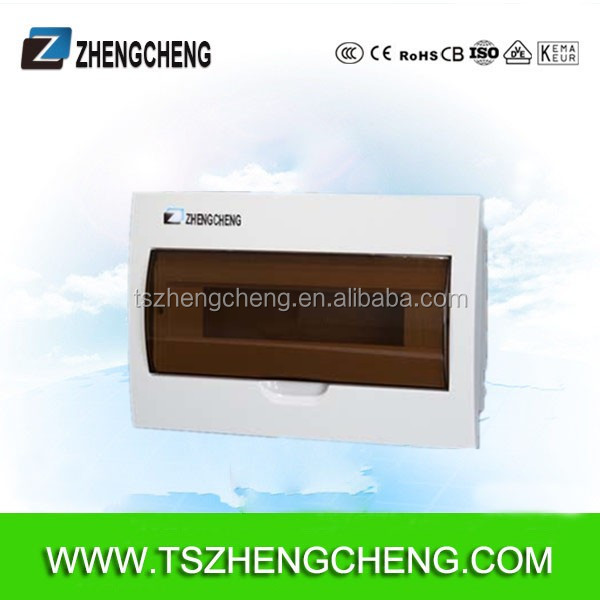 electrical distribution box IP30 18 way surface mount plastic electrical boxes, injection box