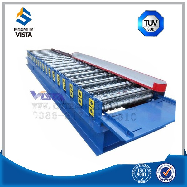 Cement Steel Structure Metal Plate Rolling Machine High Speed Cold Floor Decking Roll Forming Machinery Manufacturer