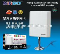 High Level 2000mw 11b/g/n Outdoor WiFi Adapter