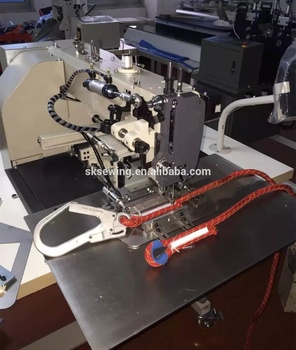 single needle harness rope computer sling pattern sewing machine
