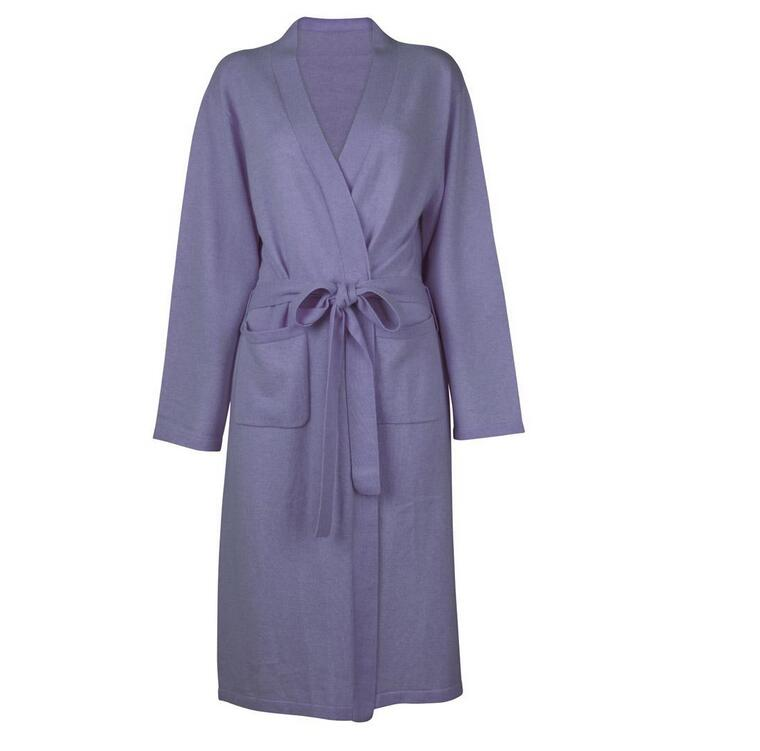 Pretty Long Warm Heated Couple Bathrobe