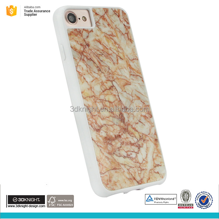New cell phone plastic cover for iphone 7 marble cover, phone cover for iphone 7 case