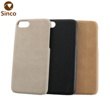 factory sales mobile phone case back cover leather phone case for iphone7