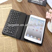 2013 bluetooth keyboard case for ipad mini for ipad mini