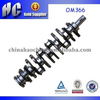 Used For Mercedes Benz OM366 diesel engine crankshaft