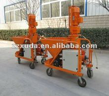 Cement plaster pump and sprayer