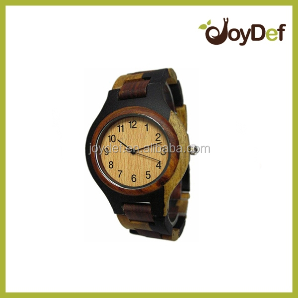 2016 trendy natural wholesale wood watch vogue wrist watch for men and women