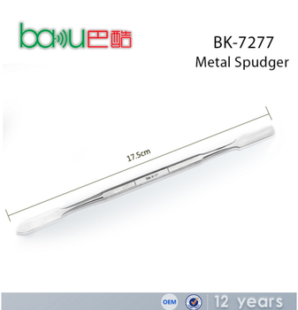 BAKU BK 7277 Hot Sell Double-end used prying tools Heavy-duty Metal Spudger Opening Tools For Cell Phone iPad