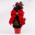 red velvet christmas ribbon bow with bells
