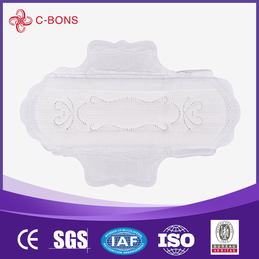 Extra wide free silk feeling sanitary napkins 290mm 350mm 410mm